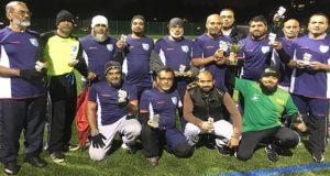 The winning Sylhet Over 50s